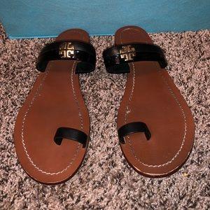 Black Tory Burch Jolie sandals!